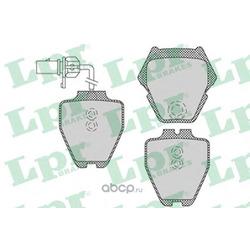 Комплект тормозных колодок, дисковый тормоз (Lpr) 05P1121