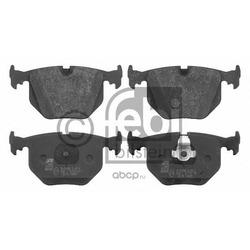 Колодки тормозные дисковые задние, комплект (Febi) 16175