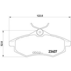 Колодки тормозные дисковые TEXTAR (Textar) 2340702