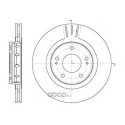 Тормозной диск (Remsa) 689610