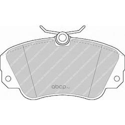 Комплект тормозных колодок, дисковый тормоз (Ferodo) FDB686