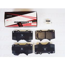 Колодки тормозные, комплект, передние (UBS) BP1110017