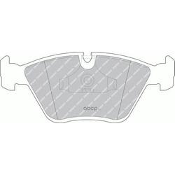 Комплект тормозных колодок, дисковый тормоз (Ferodo) FDB779