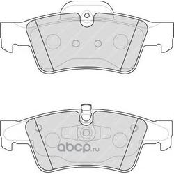 Комплект тормозных колодок, дисковый тормоз (Ferodo) FDB1831