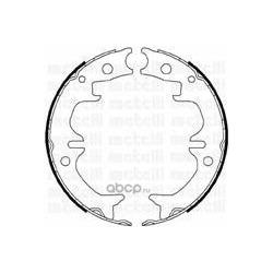 Комплект тормозных колодок, стояночная тормозная система (Metelli) 530442
