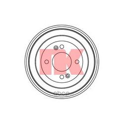 Тормозной барабан (Nk) 253413