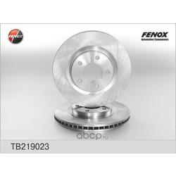 ДИСК ТОРМОЗНОЙ FENOX (FENOX) TB219023