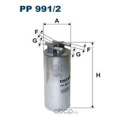 Фильтр топливный Filtron (Filtron) PP9912