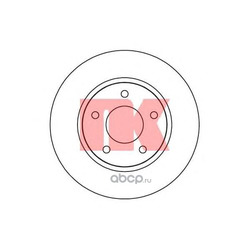 Тормозной диск (Nk) 313057