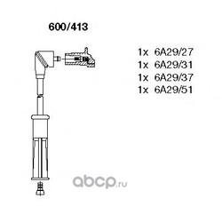 Комплект проводов зажигания (BREMI) 600413