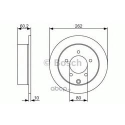 Тормозной диск (Bosch) 0986479A41