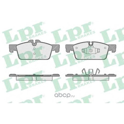 Комплект тормозных колодок, дисковый тормоз (Lpr) 05P1626
