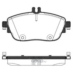 Комплект тормозных колодок, дисковый тормоз (Remsa) 148508