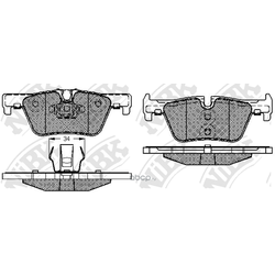 Колодки тормозные дисковые (NiBK) PN32002