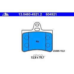 Комплект тормозных колодок, дисковый тормоз (Ate) 13046049212