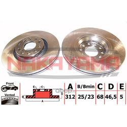 Тормозной диск (NAKAYAMA) Q4493