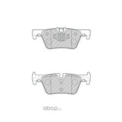 Комплект тормозных колодок, дисковый тормоз (Ferodo) FDB4670