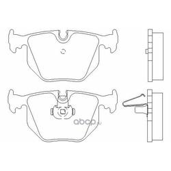 Колодки тормозные дисковые TEXTAR (Textar) 2148701