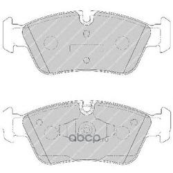Комплект тормозных колодок, дисковый тормоз (Ferodo) FDB1751