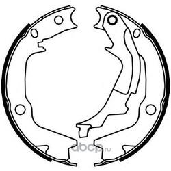 Комплект тормозных колодок, стояночная тормозная система (Ferodo) FSB4045