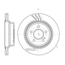 Тормозной диск (Remsa) 676010