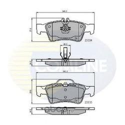 Комплект тормозных колодок, дисковый тормоз (Comline) CBP01118