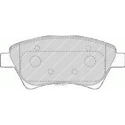 Комплект тормозных колодок, дисковый тормоз (Ferodo) FDB1544