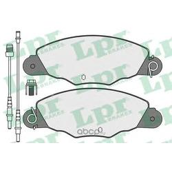 Комплект тормозных колодок, дисковый тормоз (Lpr) 05P1140