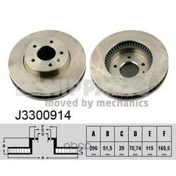 Тормозной диск (Nipparts) J3300914