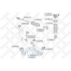 Рычаг независимой подвески колеса (Stellox) 5705382SX