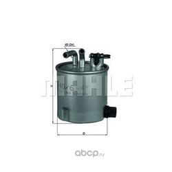 Топливный фильтр (Mahle/Knecht) KL4406