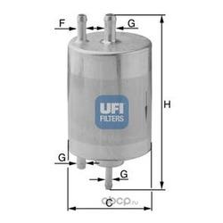Топливный фильтр (UFI) 3183400