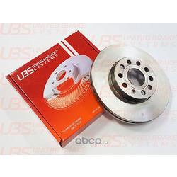 Диск тормозной V | перед | (UBS) B2102004