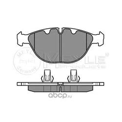 Комплект тормозных колодок, дисковый тормоз (Meyle) 0252344821
