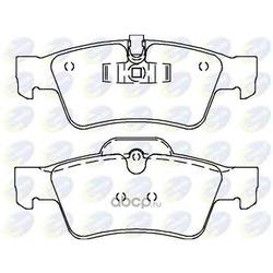 Комплект тормозных колодок, дисковый тормоз (Comline) CBP06059