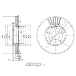 Диск (Delphi) BG2745
