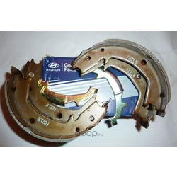 Колодки ручного тормоза TUCSON/SPORTAGE II/SANTA FE -06 (Hyundai-KIA) 583502EA10