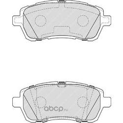 Комплект тормозных колодок, дисковый тормоз (Ferodo) FDB4179