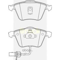 Колодки тормозные, комплект, передние (BRECK) 237620070110