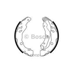 Комплект тормозных колодок (Bosch) 0986487771