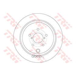 Диск тормозной (TRW/Lucas) DF6306