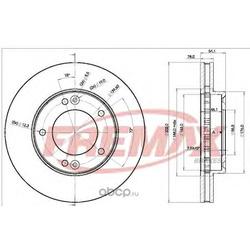 Тормозной диск (FREMAX) BD1712