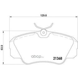 Колодки тормозные дисковые TEXTAR (Textar) 2136801