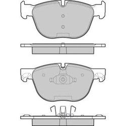 Комплект тормозных колодок, дисковый тормоз (FREMAX) FBP1666
