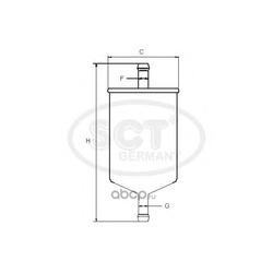 Топливный фильтр (SCT) ST6508