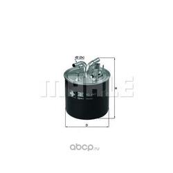Топливный фильтр (Mahle/Knecht) KL447