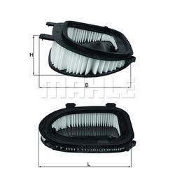 Воздушный фильтр (Mahle/Knecht) LX3541