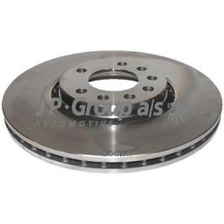 Диск тормозной передний / OPEL Astra-G/H,Zafira-A/B,Corsa D,Meriva,Vectra-B (25x308mm) (JP Group) 1263102200