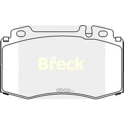 Комплект тормозных колодок, дисковый тормоз (BRECK) 232710070120