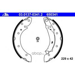 Комплект тормозных колодок (Ate) 03013703412